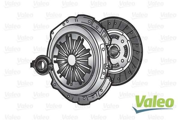 Σετ συμπλέκτη VALEO για SANTANA PS10/ANIBAL 2.8 D 4x4 (2003+) 125hp 8140.43P