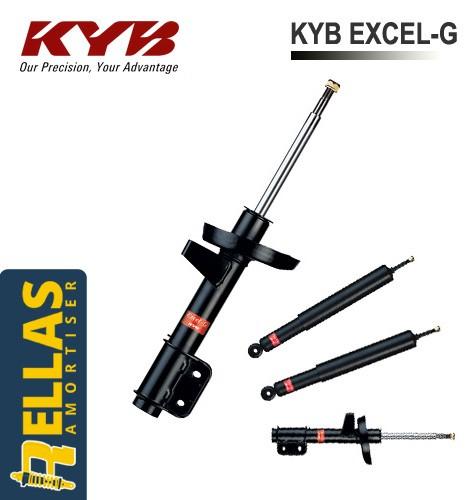 Αμορτισέρ για Hyundai Accent LC Kayaba Excel G (2000-2005) Image 0